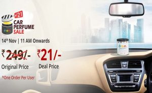 Droom Car Perfume Sale Date