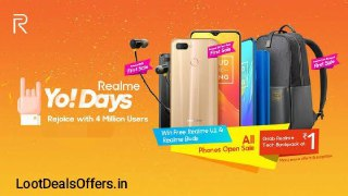 Realme Yo Days offer