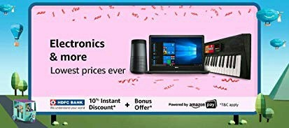 Amazon.in Electronics Deals