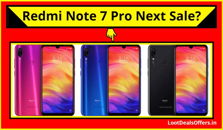 Redmi Note 7 Pro Next Sale