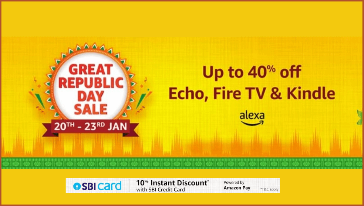 Amazon Republic Day Sale Echo Devices
