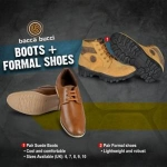 Bacca Bucci Men's Footwear 70% off from Rs.359 At Amazon