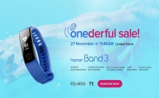 Honor Flash Sale | Honor Band 3 at Rs.1