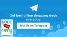 Join Loot Deals Offers Telegram Channel: Get Best Deals Everyday On Your Mobile