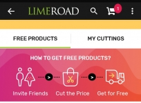 [Back Again] LimeRoad Cut The Price Offer- Get Product for Free of Cost