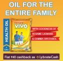 Lybrate Fortune VIVO Oil Offer Free Sample – Get 1L Fortune Vivo Oil for Free [MRP Rs.150]