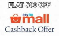 Paytm Mall Cashback Offers- Get Rs.500 Cashback on Rs.1500 (Grocery, Home & Kitchen, Fashion)