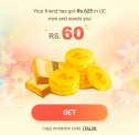 Uc Mini Refer And Earn- Get Rs.100/50 Per Friends + Rs. 25 Paytm Recharge Code