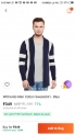 Wittrends Men Cotton Sweatshirt – Blue MRP Rs.1199 At Rs.249 only on Paytm Mall