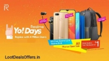 RealMe R Power Challenge – Realme Yo Days Offer- How to Win Realme U1 for Free?